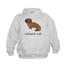 Daschshunds Rock Hoody