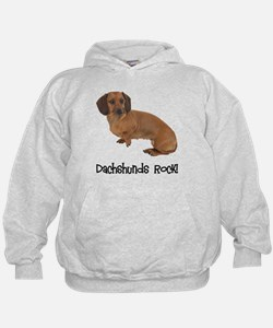 Daschshunds Rock Hoody