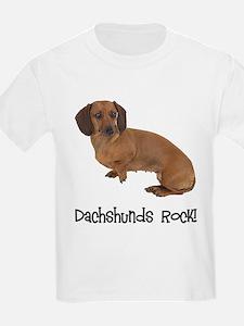 Daschshunds Rock T-Shirt
