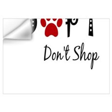 Adopt. Don't Shop. Wall Decal