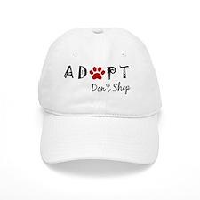 Adopt. Don't Shop. Baseball Cap