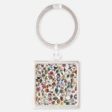 jewelry rings Square Keychain