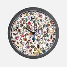 jewelry rings Wall Clock