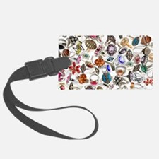 jewelry rings Luggage Tag