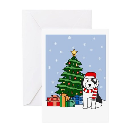 OES Howling Good Holiday Greeting Card