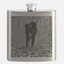 Black Wolf Flask
