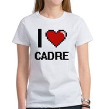 I love Cadre Digitial Design T-Shirt
