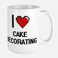 I love Cake Decorating Digitial Design Mugs