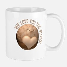 Love You Pluto Mugs