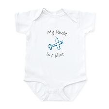 My Uncle is a Pilot Infant Bodysuit