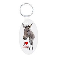 Helaine's I LOVE Zonkeys Keychains