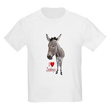 Helaine's I LOVE Zonkeys T-Shirt