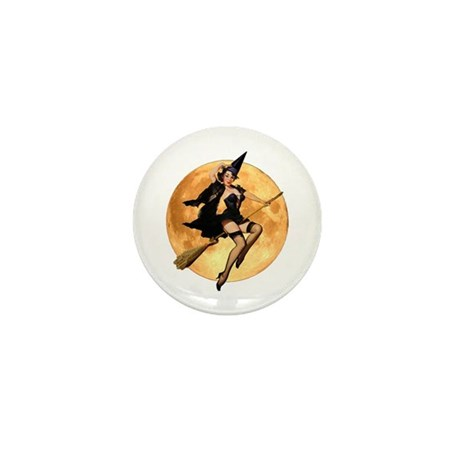 WITCH'S MOON Mini Button