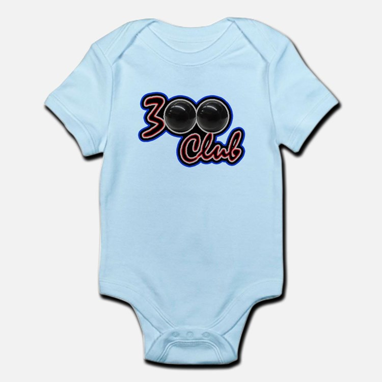 300 CLUB - PERFECT GAME SCORE BOWL Infant Bodysuit