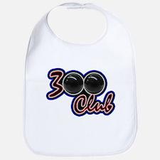 300 CLUB - PERFECT GAME SCORE BOWLING Bib