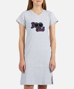 300 CLUB - PERFECT GAME SCORE B Women's Nightshirt