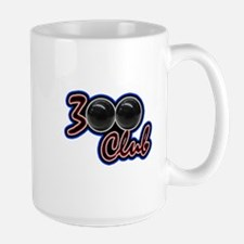 300 CLUB - PERFECT GAME SCORE BOWLING Large Mug