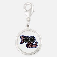 300 CLUB - PERFECT GAME SCORE Silver Round Charm