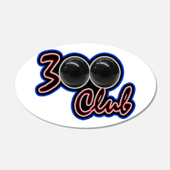 300 CLUB - PERFECT GAME SCOR Wall Decal