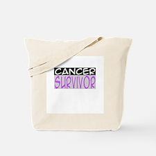 'Cancer Survivor' Tote Bag