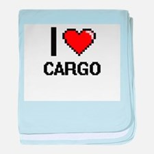 I love Cargo Digitial Design baby blanket