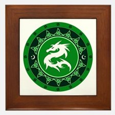 Dragon Knot 8 Framed Tile