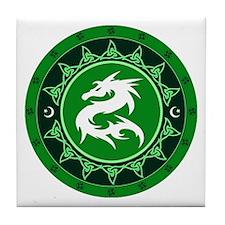 Dragon Knot 8 Tile Coaster