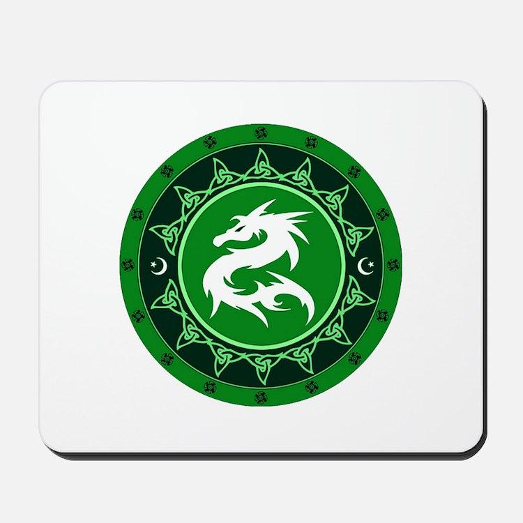 Dragon Knot 8 Mousepad