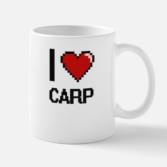 I love Carp Digitial Design Mugs