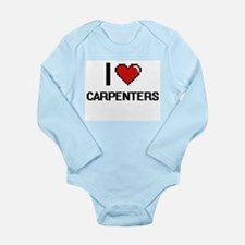 I love Carpenters Digitial Design Body Suit