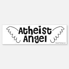 Atheist Angel Bumper Bumper Bumper Sticker