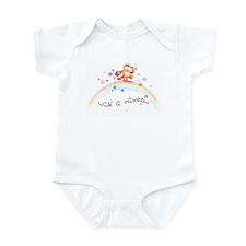 WALK A RAINBOW Infant Bodysuit