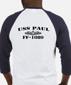 USS PAUL Baseball Jersey