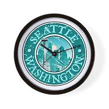 Seattle, Washington Wall Clock
