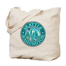 Seattle, Washington Tote Bag