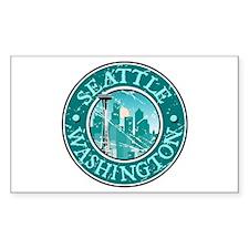 Seattle, Washington Rectangle Decal