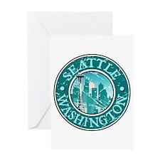 Seattle, Washington Greeting Card