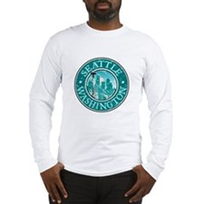 Seattle, Washington Long Sleeve T-Shirt