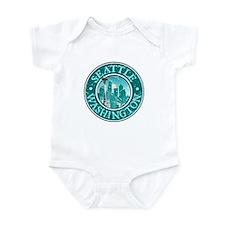 Seattle, Washington Infant Bodysuit