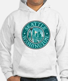 Seattle, Washington Hoodie Sweatshirt