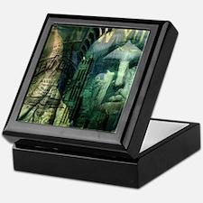 cool statue of liberty Keepsake Box