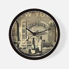 Vintage USA New York Wall Clock