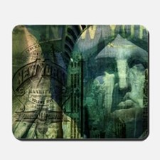 cool statue of liberty Mousepad
