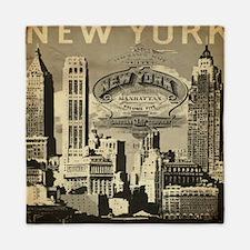 Vintage USA New York Queen Duvet