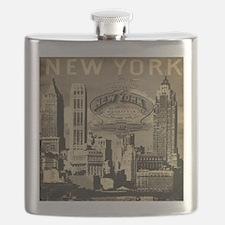 Vintage USA New York Flask