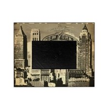 Vintage USA New York Picture Frame