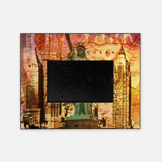 cool statue of liberty Picture Frame