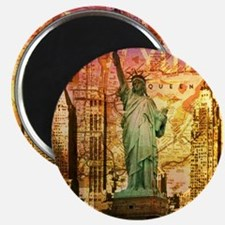 cool statue of liberty Magnet