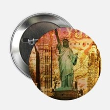 """cool statue of liberty 2.25"""" Button"""