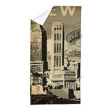 Vintage USA New York Beach Towel